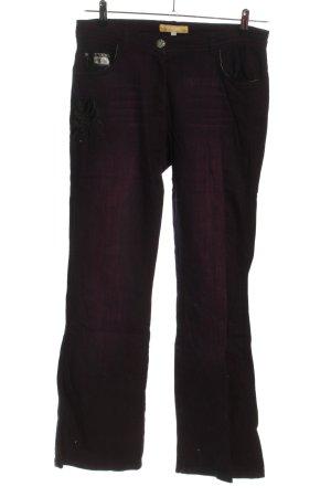 Biba Straight-Leg Jeans pink Street-Fashion-Look
