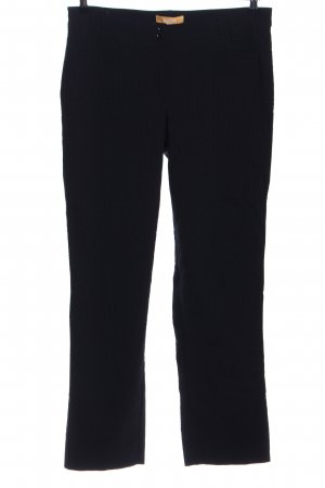 Biba Stretchhose schwarz Streifenmuster Business-Look