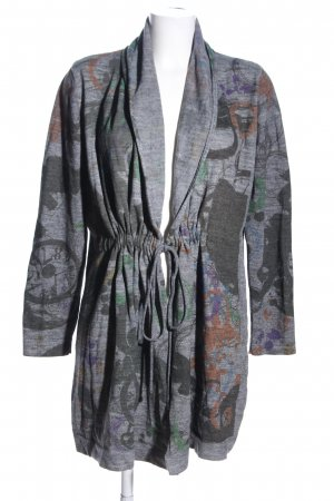 Biba Knitted Cardigan abstract pattern casual look