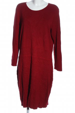 Biba Knitted Dress red flecked casual look