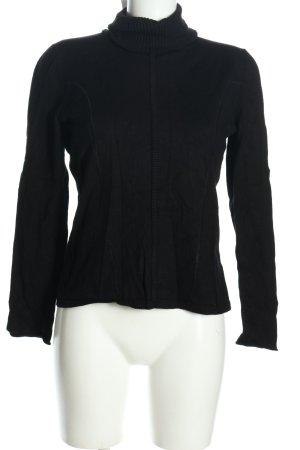 Biba Maglione lavorato a maglia nero stile casual