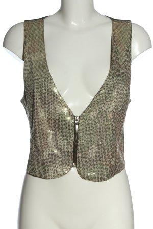 Biba Knitted Vest black-cream casual look