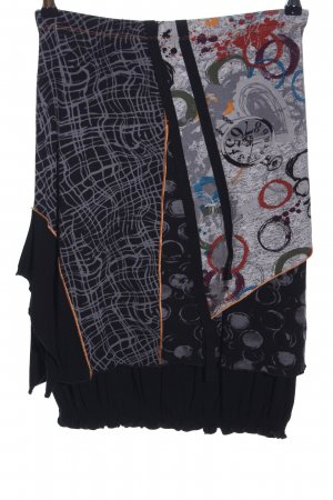 Biba Broomstick Skirt abstract pattern extravagant style