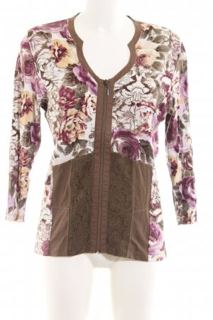 Biba Sweat Jacket flower pattern casual look