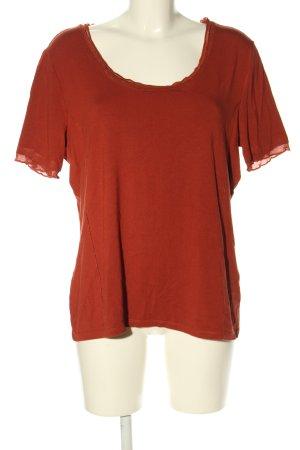 Biba T-shirt arancione chiaro stile casual