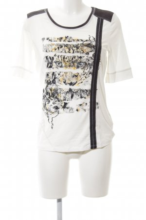 Biba T-Shirt Motivdruck Casual-Look