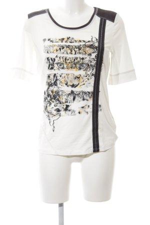 Biba T-Shirt Motivdruck Casual-Look