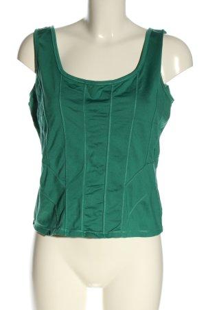 Biba Canotta verde stile casual