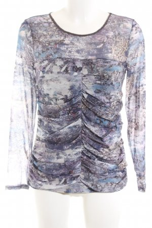 Biba Transparenz-Bluse Mustermix Casual-Look