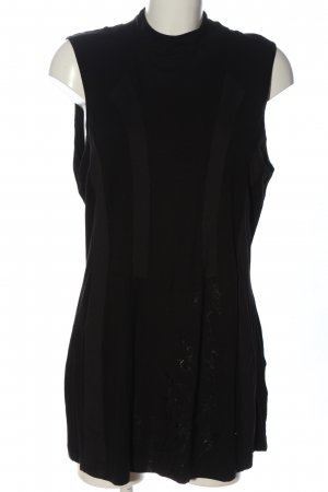 Biba Tunique-blouse noir style décontracté