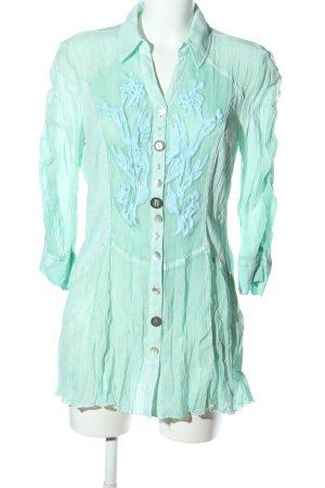 Biba Tunic Blouse turquoise casual look