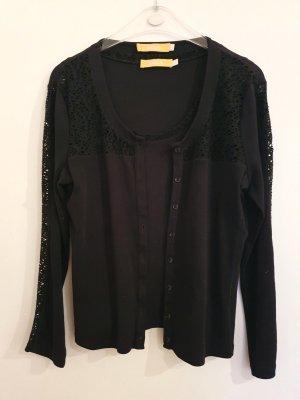 Biba Twin set in maglia nero