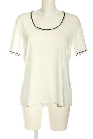 Biba U-Boot-Shirt weiß-schwarz Casual-Look