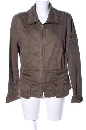 Biba Between-Seasons Jacket brown casual look