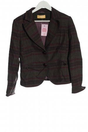 Biba Wool Blazer check pattern casual look