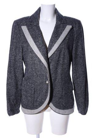 Biba Wool Blazer light grey flecked business style