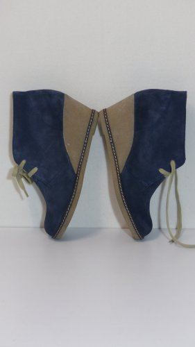 Bibi Lou Desert Boots blue leather