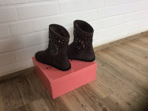 Bibi Lou Winter boots donkergrijs Imitatie leer