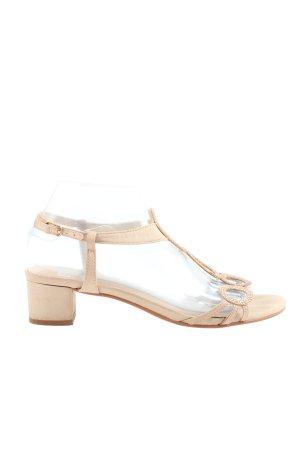 Bibi Lou Riemchen-Sandaletten pink-wollweiß Casual-Look