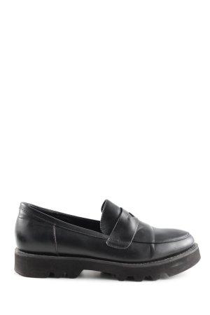 Bibi Lou Slip-on Shoes black business style