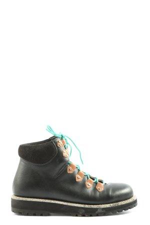 Bibi Lou Bottines à lacets multicolore style décontracté
