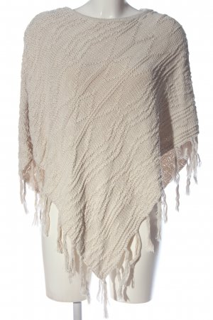 Bicalla Poncho natural white casual look
