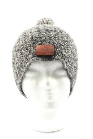 Bickley + Mitchell Sombrero de punto gris claro look casual