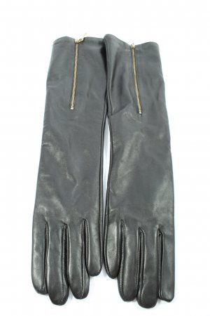 Bickmods Leather Gloves black casual look