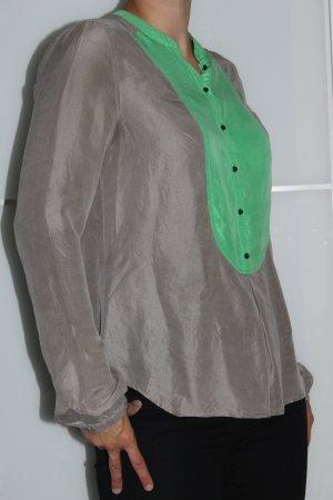 Custommade Slip-over Blouse beige-green