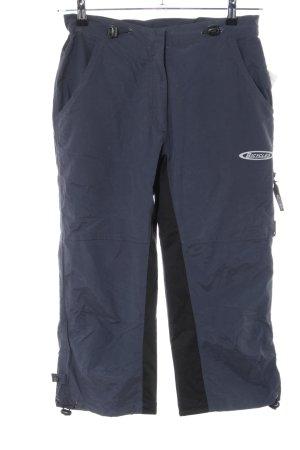 Sporthose blau-schwarz Casual-Look