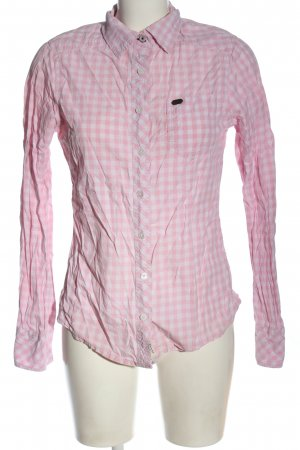 bien bleu Shirt Blouse pink-white allover print casual look