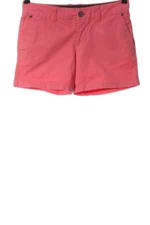 bien bleu Hot Pants pink casual look
