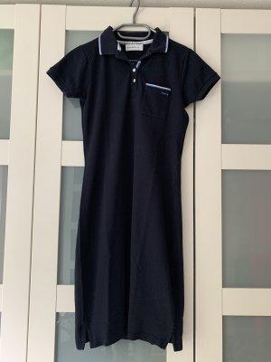 bien bleu Polo Dress dark blue