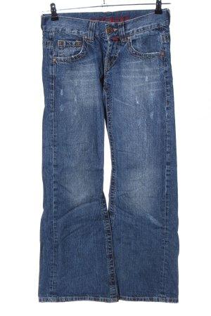 Big Blue Boot Cut Jeans blau Casual-Look