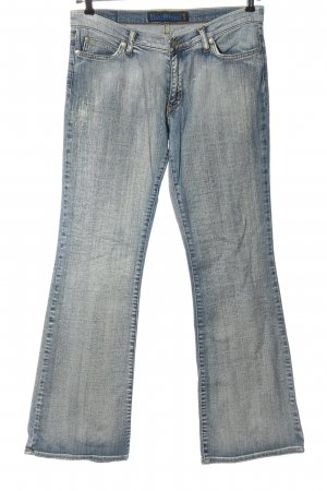 Big Blue Low Rise Jeans blue casual look