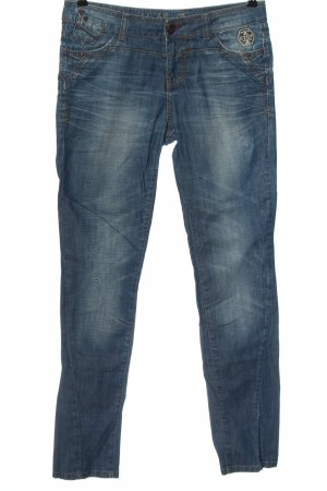 Big Blue Low Rise jeans blauw casual uitstraling
