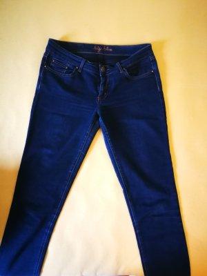 Big Blue Tube Jeans dark blue