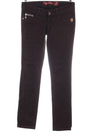 Big Blue Skinny Jeans braun Casual-Look
