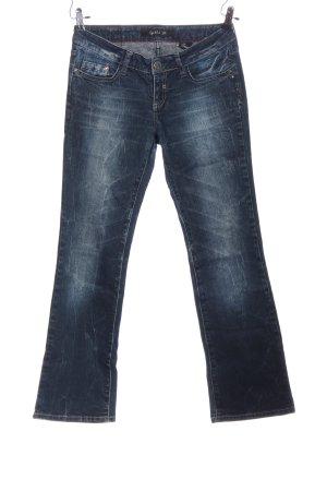 Big Blue Straight Leg Jeans blue casual look