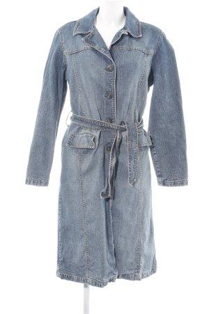 Big Blue Between-Seasons-Coat blue casual look