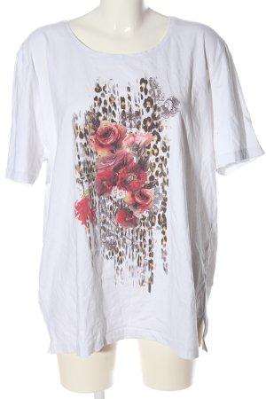 Big & Chic Koszulka z nadrukiem Nadruk z motywem W stylu casual