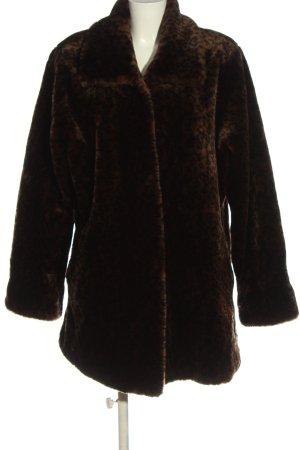 big fun Manteau d'hiver brun élégant