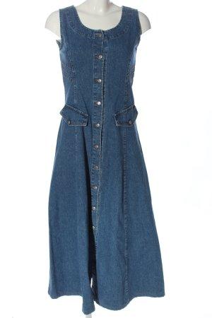 Big One Robe en jean bleu style décontracté