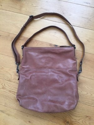 Big & Practic Vintage optic Leather bag