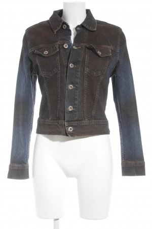 Big Star Denim Jacket dark blue-brown