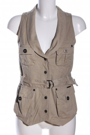 Big Star Denim Vest light grey casual look