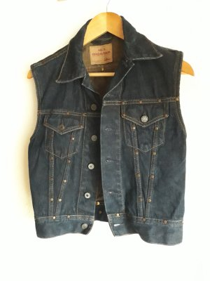 Big Star Vest dark blue