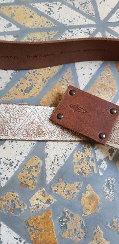 Big Star Leather Belt oatmeal-camel