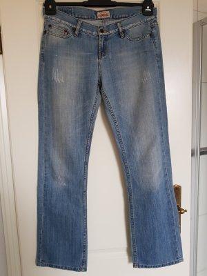 Big Star Boot Cut Jeans steel blue