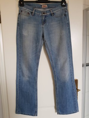 Big Star Boot Cut Jeans steel blue cotton